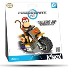 Diddy Kong And Standard Bike Building