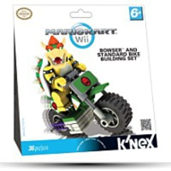 Knex Mario Kart Wii Bowser Bike Building