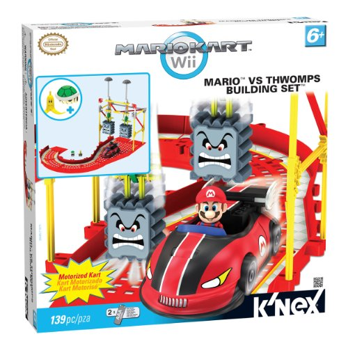 Knex Mario Kart Wii Bowsers Castle Mario Building Sets