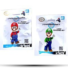 Knex Mariokart Minifigure Building Set