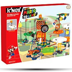 Knex Nintendo 3D Land Flying Cloud Building