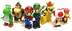 mario kart knex loose mini figures