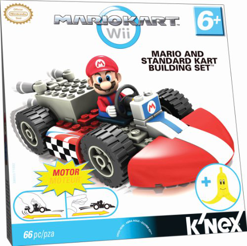 Mario And Standard Kart Building Set