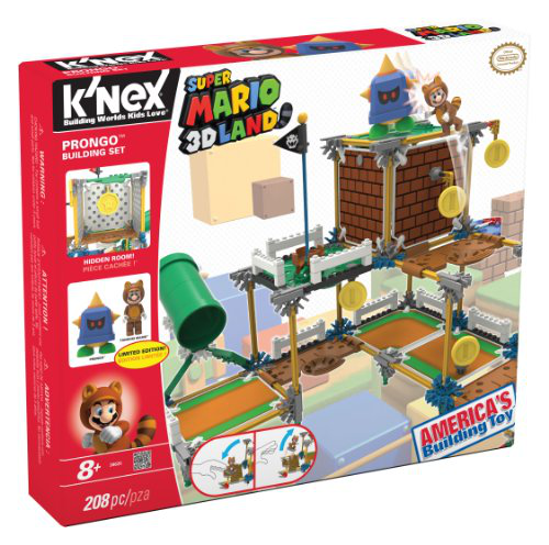 K'nex Nintendo Super Mario 3D Land Prongo Building Set